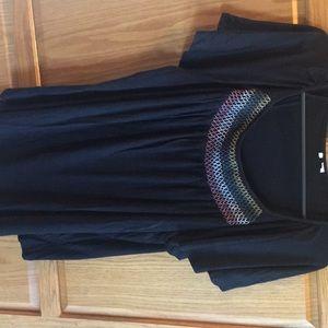 Dress barn black top